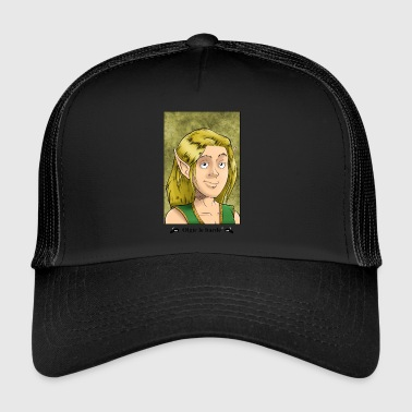 Elf portrait - Trucker Cap