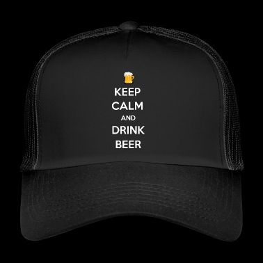 KEEP CALM AND DRINK BEER - Trucker Cap