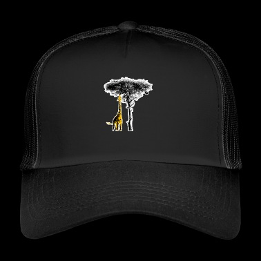 Giraffe Africa Safari Wilderness - Trucker Cap