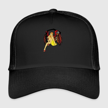 Half angel half demon - Trucker Cap