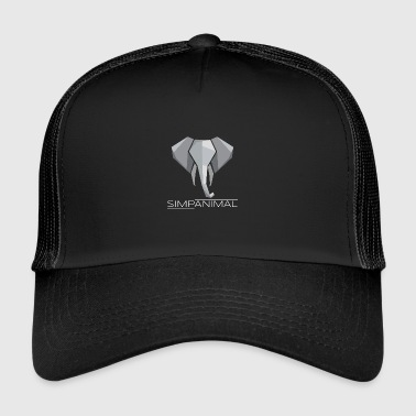 SimpAnimal - Elephant Simpler - Simple - Nice - Trucker Cap