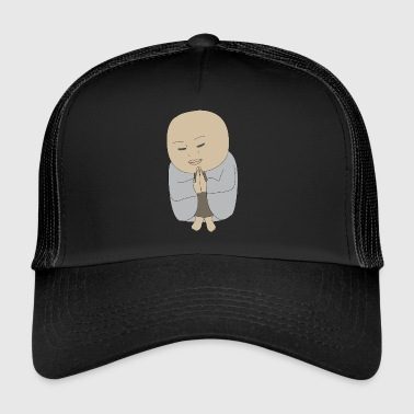 god god kerk bijbel Bible Church Wedding - Trucker Cap