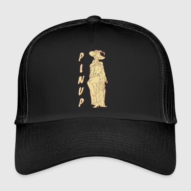 CLASSIC PINUP NAINEN VINTAGE - Trucker Cap