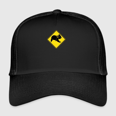 Australie Road Sign - KOALA - Trucker Cap