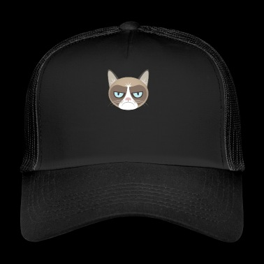 Chat grincheux - Trucker Cap