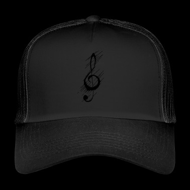 Heavy Metal, destroyed clef - Trucker Cap