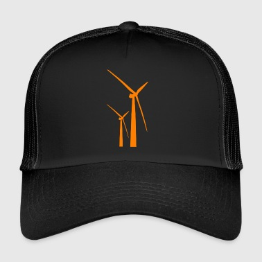 windmill windmill wind turbine windrad39 - Trucker Cap
