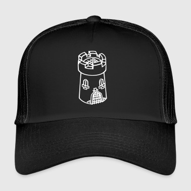 Middle Ages tower - Trucker Cap