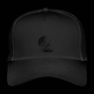 sailboat - Trucker Cap