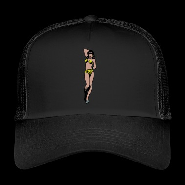 Pinup woman - Trucker Cap