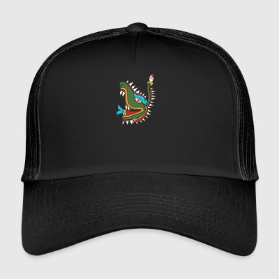 Mayan crocodile - Trucker Cap