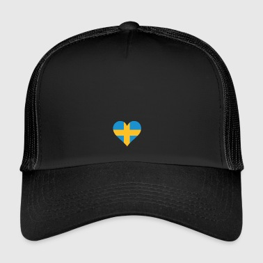 Et hjerte for Sverige - Trucker Cap