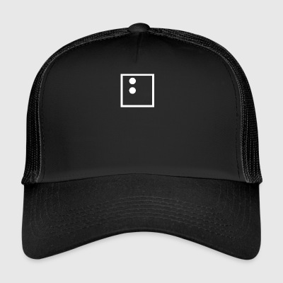 b (white) - Trucker Cap