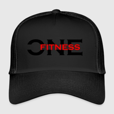 Logo ONE FITNESS (bez globu) - Trucker Cap