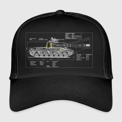 Object 268 blueprint - Trucker Cap