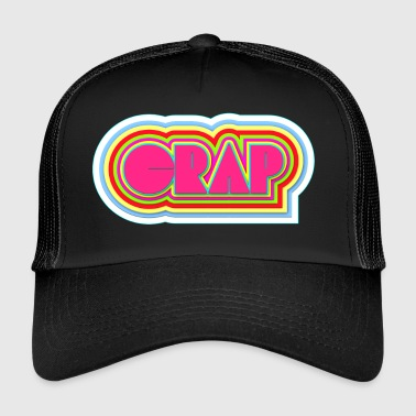 crap i neon - Trucker Cap