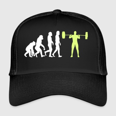 Evolution - Bodybuilder T-Shirt Gift - Trucker Cap