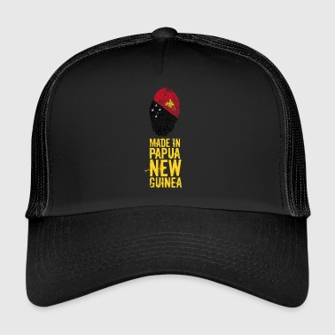 Made In Papua New Guinea / Papua New Guinea - Trucker Cap