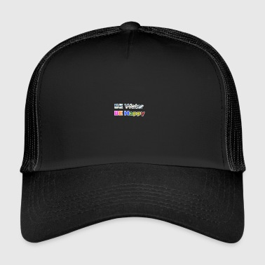 Be water, be happy - Trucker Cap