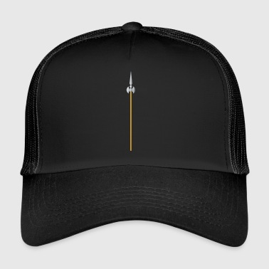 Halberd Pike Lanze Ritter Knight3 - Trucker Cap