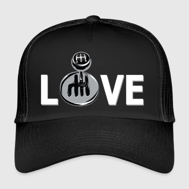 Love / for car enthusiast or tuner - Trucker Cap