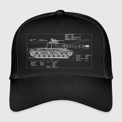 Object 268 plan - Trucker Cap