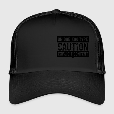 Unique Ego Type - Explicit Content Edition - Trucker Cap
