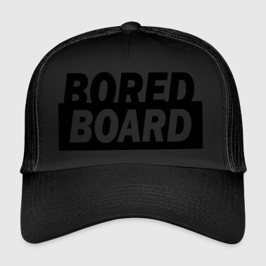 Bored board - Trucker Cap