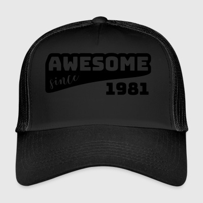 Awesome Sinds 1981 / Birthday-shirt - Trucker Cap
