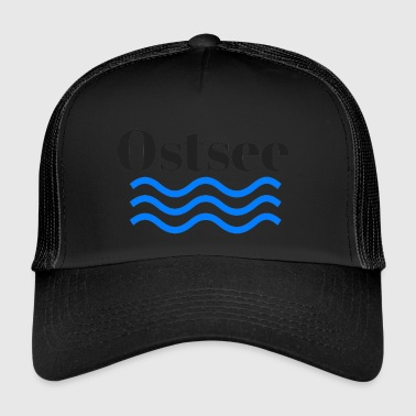 Ostsee transparent - Trucker Cap