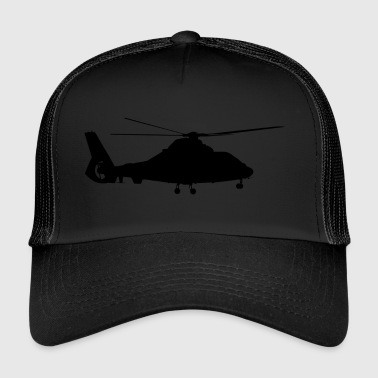 Aircraft, helicopter - Trucker Cap