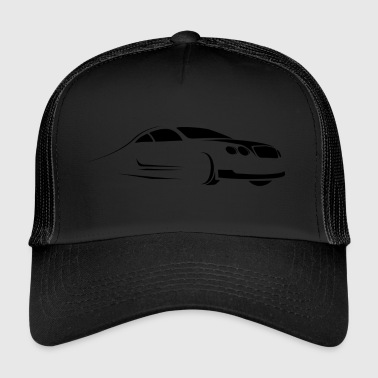 Car - Silhouette - Trucker Cap