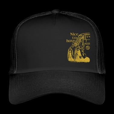 Nicetohave or Auto Collection - Trucker Cap
