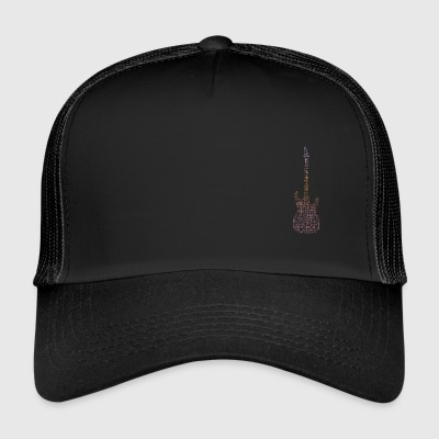guitarwords - Trucker Cap
