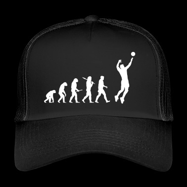 Evolution Volleyball Man - Trucker Cap