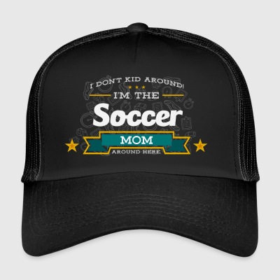 Soccer Mom Mom Shirt Gift Idea - Trucker Cap