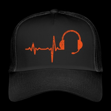 Gift Heartbeat Call Center - Trucker Cap