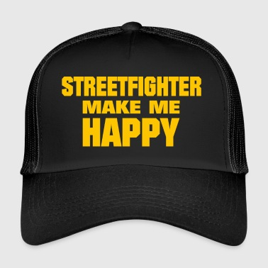 Streetfighter Make Me Happy - Trucker Cap