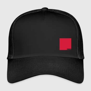 FREE IN QUADRAT - Trucker Cap
