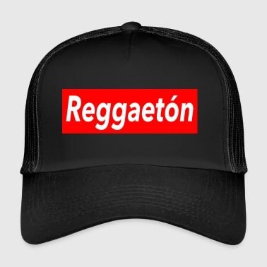 Reggaeton Shirt - red - Mambo New York - Trucker Cap