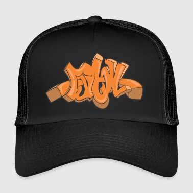 ma graffiti - Trucker Cap