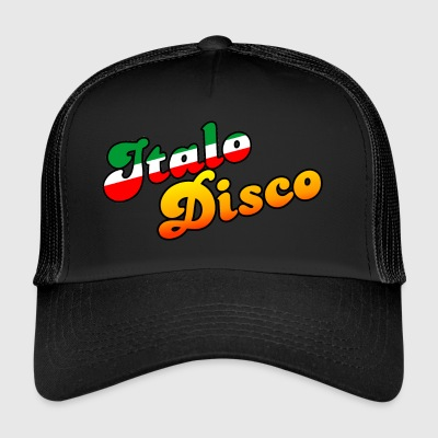 ITALO DISCO MUSIC - Trucker Cap