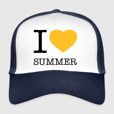 I LOVE SUMMER - Trucker Cap