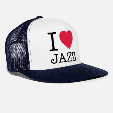Jazz I LOVE JAZZ - Trucker cap