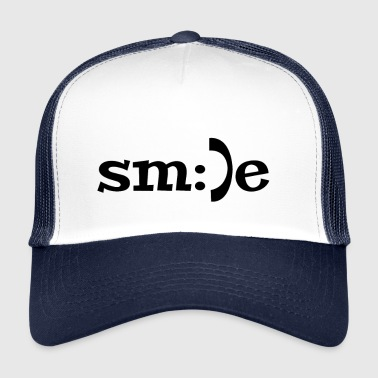 Sourire sourire sourire smiley - Trucker Cap