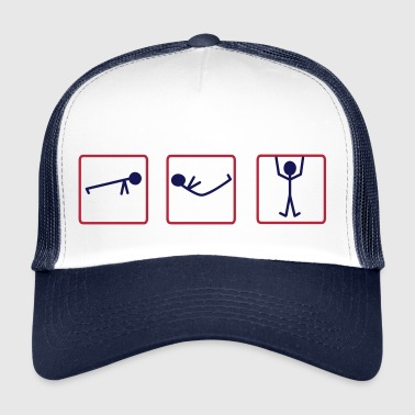 Push Ups, Sit Ups, Pull Ups, Crossfit Training - Trucker Cap
