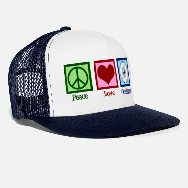 Peace Love Ocularist - Truckerkeps