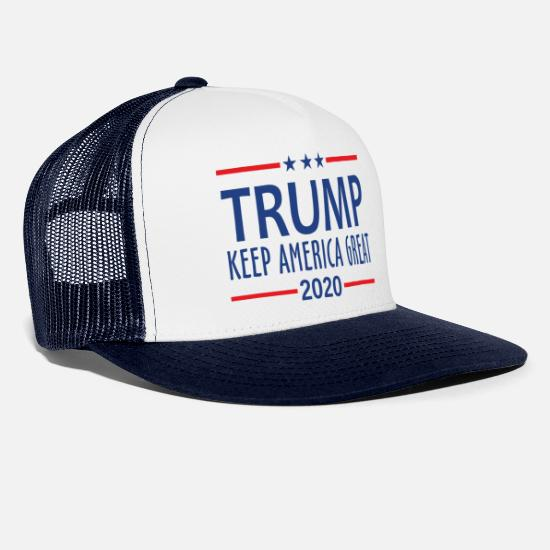 America Petten & mutsen - Trump Keep America Great - Trucker cap wit/navy