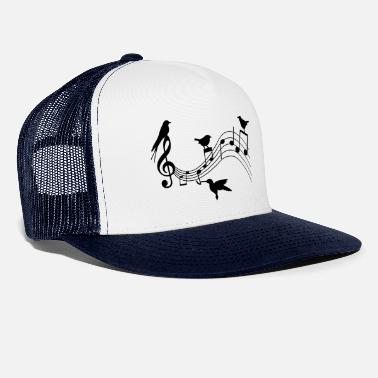 Music Birds and music | Birds and Music - Trucker Cap