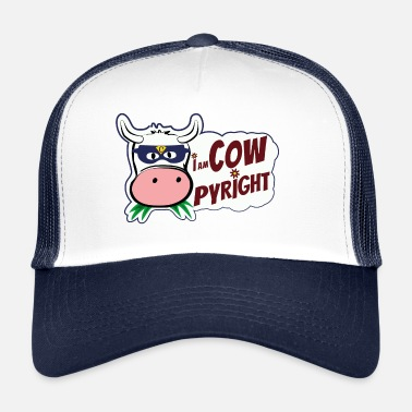 Vache I am Cow Pyright - Trucker Cap